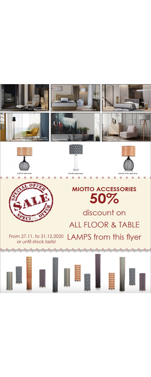 Miotto Lamps Sale